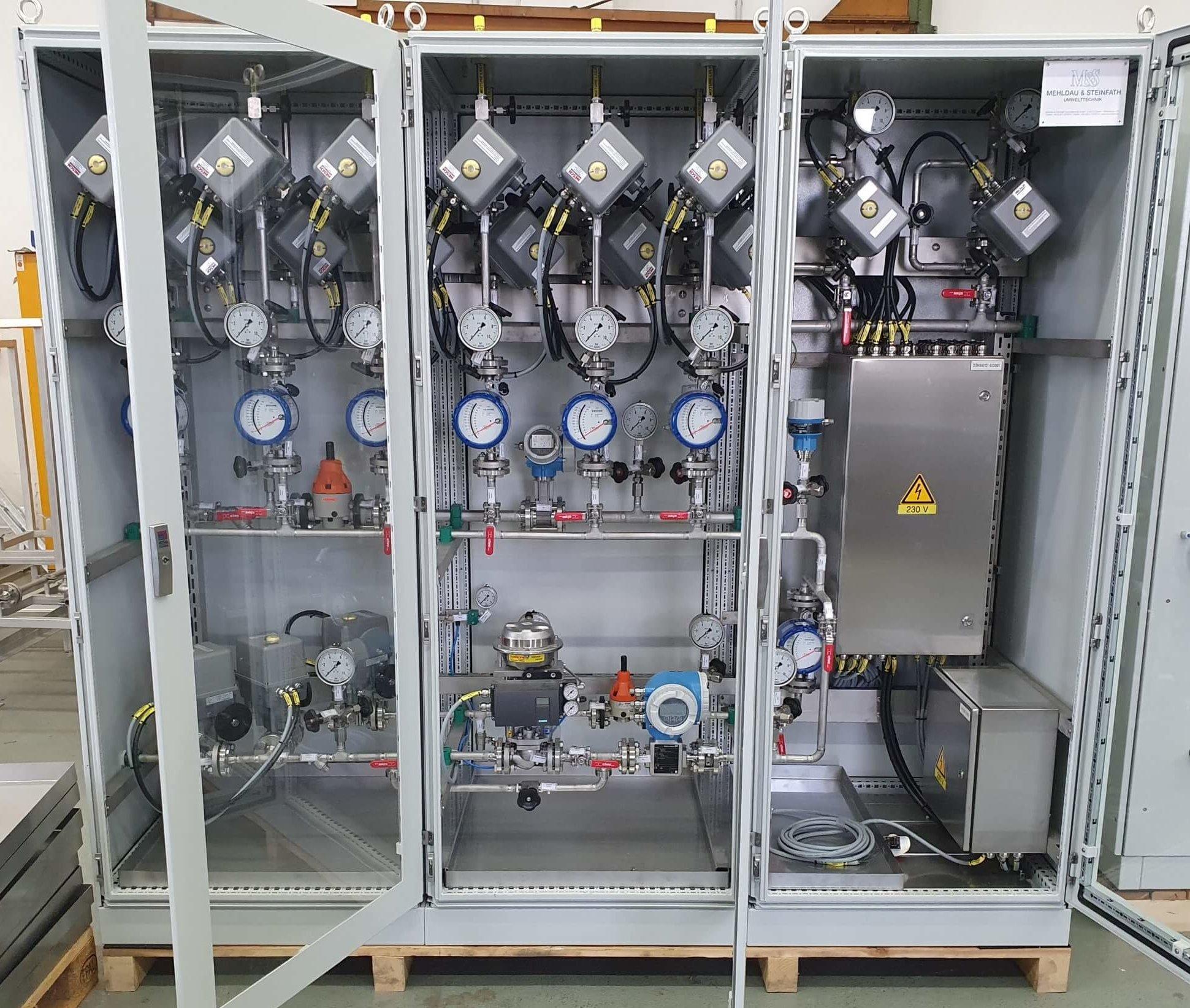 M&S Umwelttechnik Mixing & Metering Module