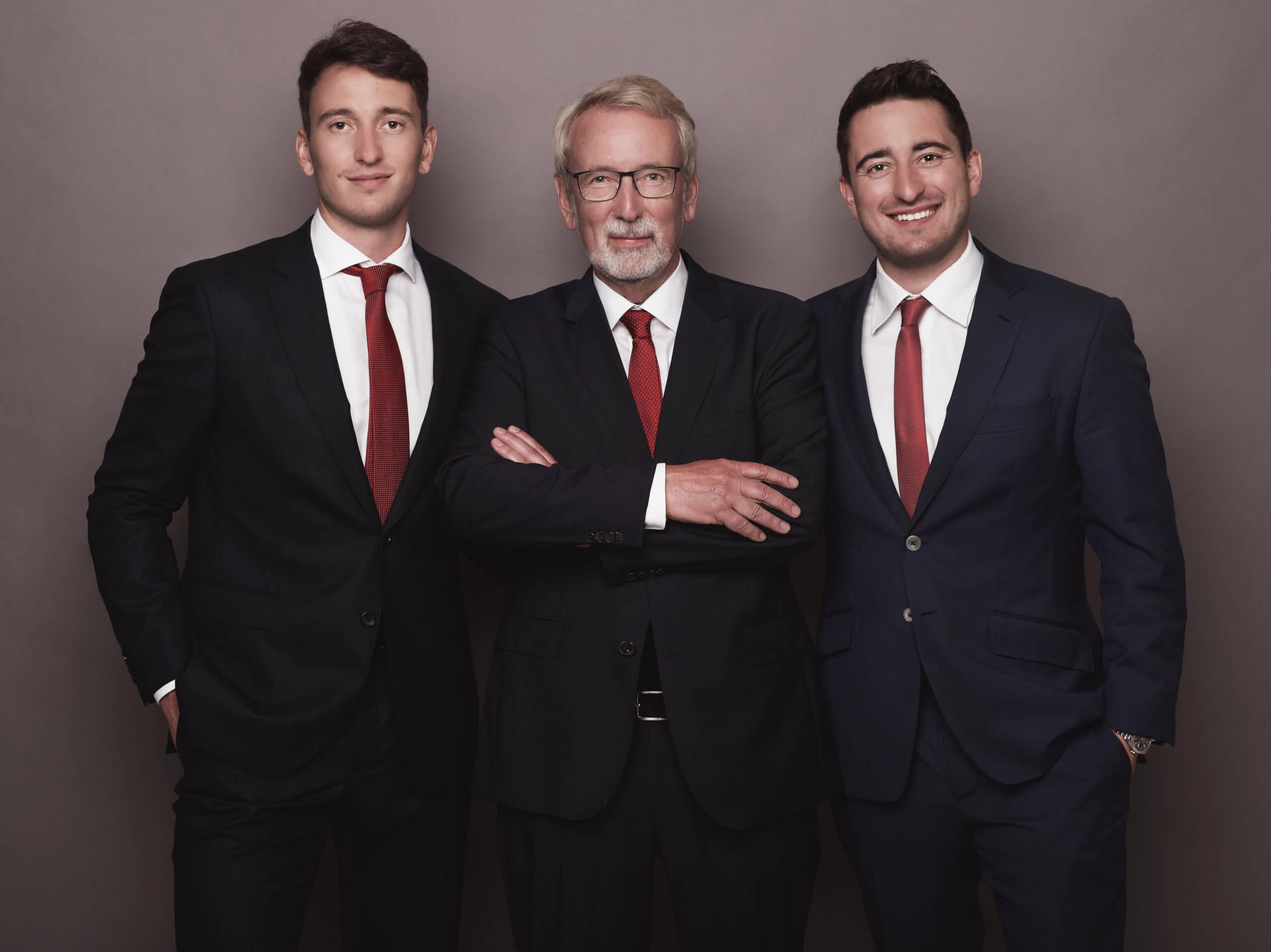Timo, Bernd und Daniel von der Heide