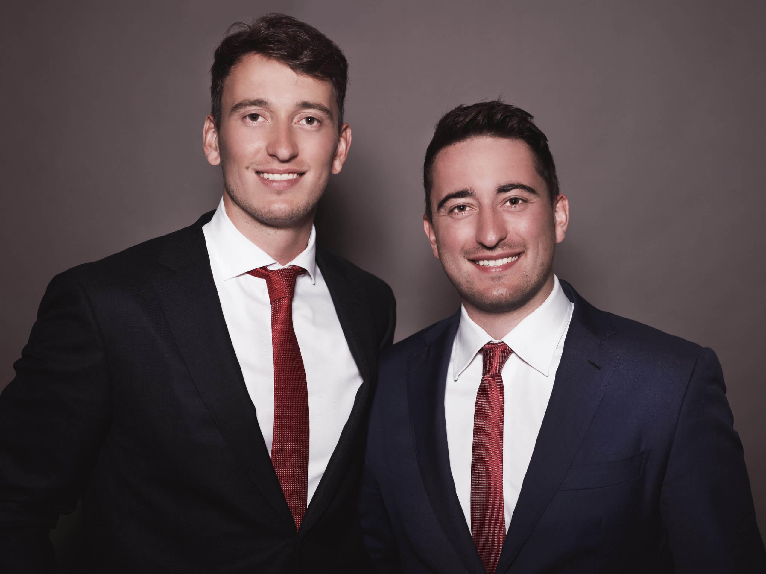 Timo und Daniel von der Heide